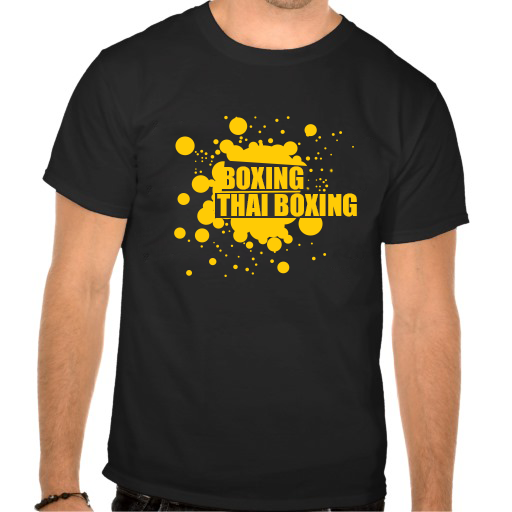 thai boxing tee